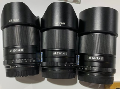 Viltrox APS-C lenses for Fujifilm, Sony and Leica detailed ahead of launch