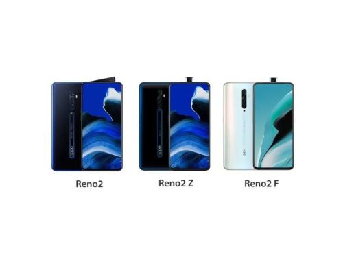 OPPO Reno2, Reno2 Z, Reno2 F: What's different?