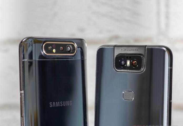 Asus Zenfone 6 vs. Samsung Galaxy A80 Comparison: Flippy camera shootout