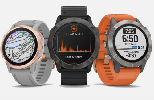Garmin Fenix 6 will soak up the sun to keep tracking your outdoor adventures