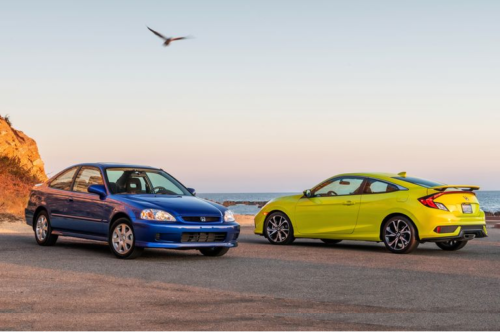 2019 Honda Civic Si Coupe vs. 1999 Honda Civic Si Coupe: Which Is the Best Civic Si of All Time?