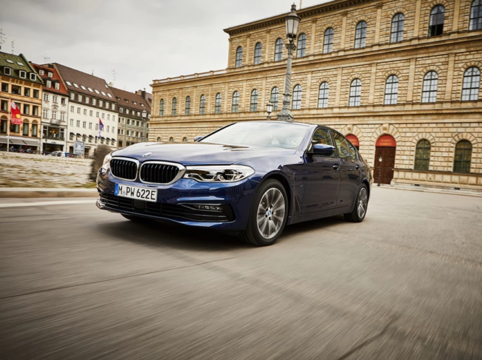 2020 BMW 530e update revealed