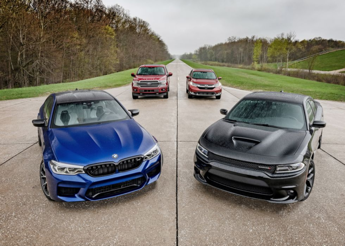 Should You Be Buying Premium? Honda CR-V, BMW M5, Ford F-150, Dodge Charger Tested