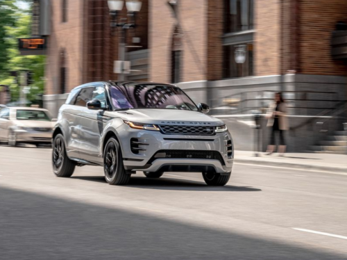 Subcompact 2020 Range Rover Evoque P300 Trades on Style over Function