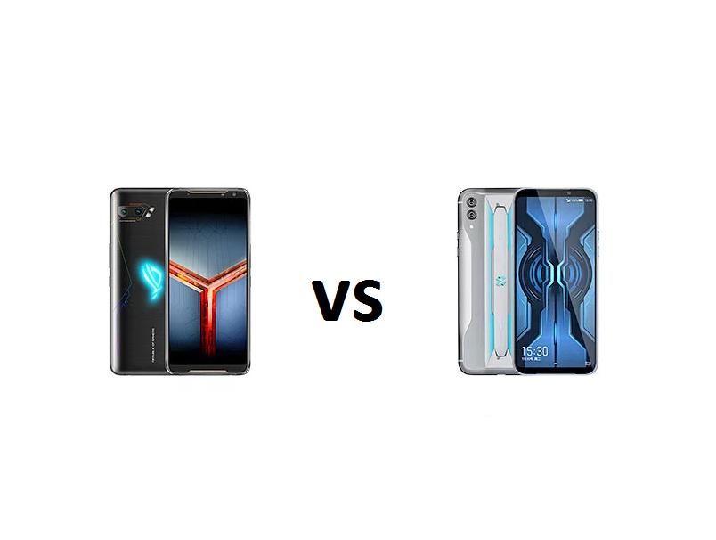 Xiaomi Black Shark 2 Pro vs ASUS ROG Phone 2 specs comparison