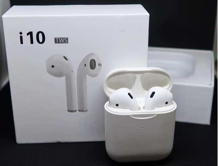 Apods i10 Review: Bluetooth 5.0 TWS Earbuds with Wireless Charging