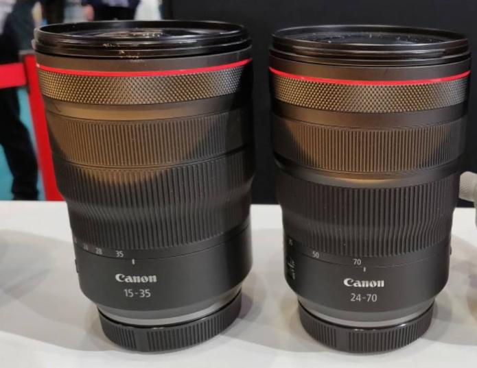 Canon RF 15-35mm f/2.8L IS USM & RF 24-70mm f/2.8L IS USM Lenses to be Announced Soon