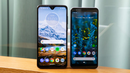Pixel 3A vs. Moto G7: What's the best budget phone?