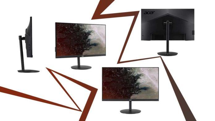 Acer Nitro XF252Q gaming monitor packs FreeSync, 2x speakers, major adjustability