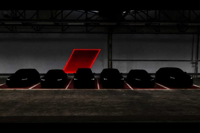 Audi Sport tease six RS models it will launch in 2019