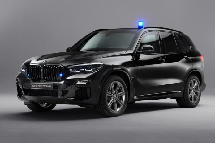 New BMW X5 gets armoured