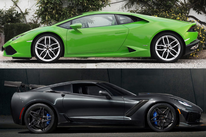 2019 Lamborghini Huracan VS 2019 Chevrolet Corvette ZR1