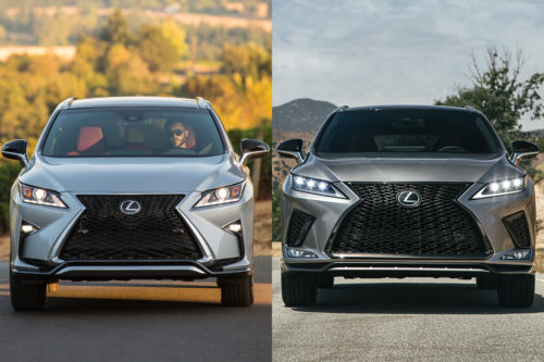 2019 vs. 2020 Lexus RX: What's the Difference?