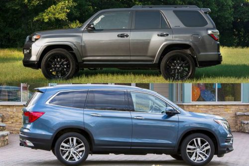 2019 Toyota 4Runner vs. 2019 Honda Pilot: Which Is Better?