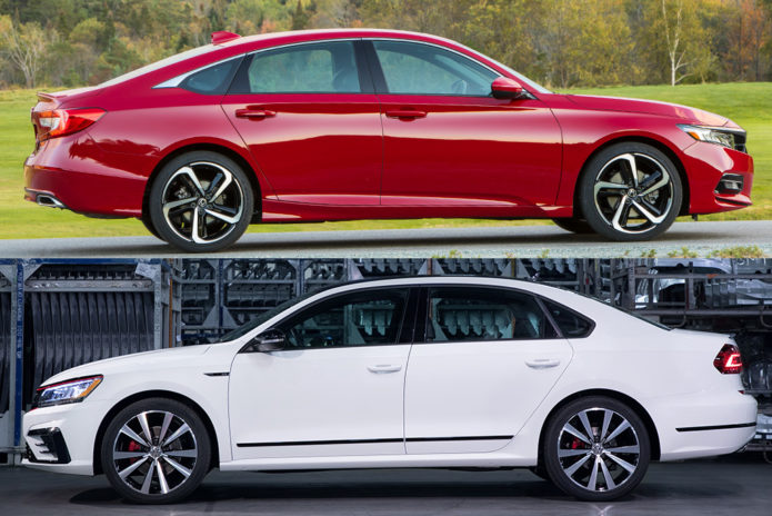 2019 Honda Accord VS 2019 Volkswagen Passat