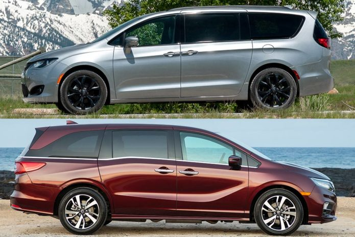 2019 Chrysler Pacifica VS 2019 Honda Odyssey