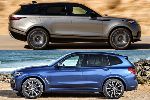 2019 Land Rover Range Rover Velar vs. 2019 BMW X3: Which Is Better?