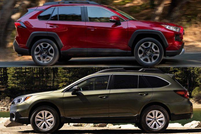 2019 Toyota RAV4 VS 2019 Subaru Outback