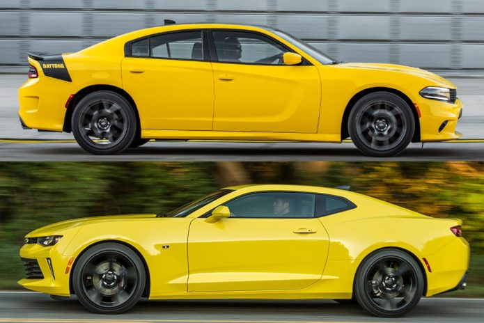 2019 Dodge Charger VS. 2019 Chevrolet Camaro