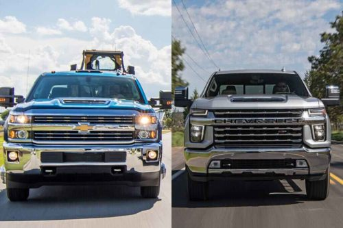 2019 vs. 2020 Chevrolet Silverado HD: What's the Difference?