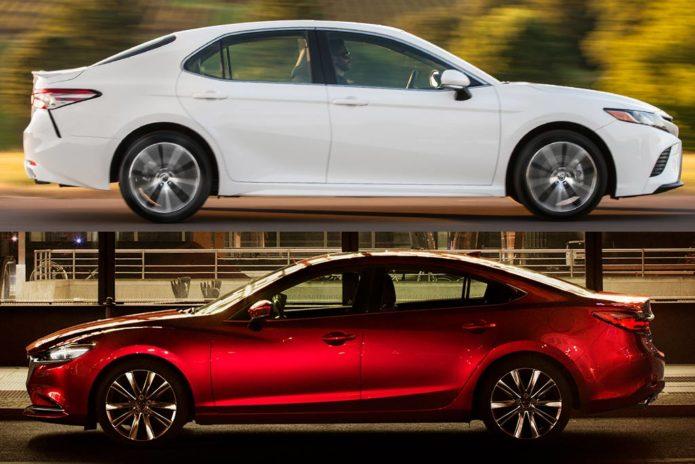 2019 Toyota Camry VS 2019 Mazda6