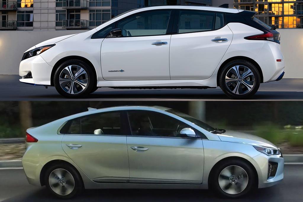 2019 Nissan Leaf VS 2019 Ioniq Electric