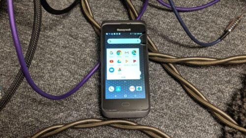 Honeywell Dolphin CT40 ruggedised smartphone review