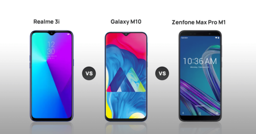 Realme 3i vs Samsung Galaxy M10 vs Asus Zenfone Max Pro M1 comparison: Which one to buy?