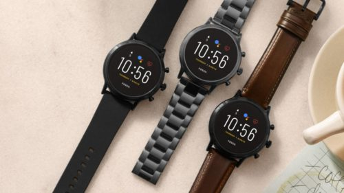Fossil Gen 5 Wear OS smartwatches let iPhone users take calls