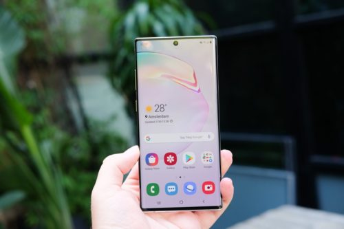 Samsung Galaxy Note 10 Plus Review in progress