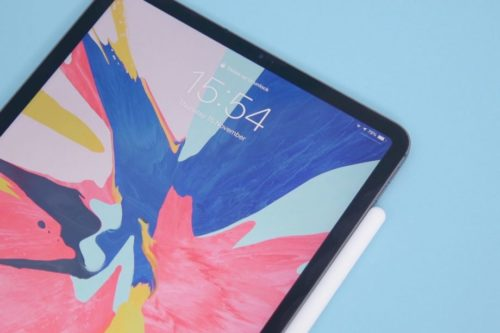A new camera sensor could be coming to the iPad Pro 2020