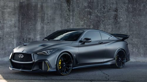 The Infiniti Project Black S is the best sort of hybrid