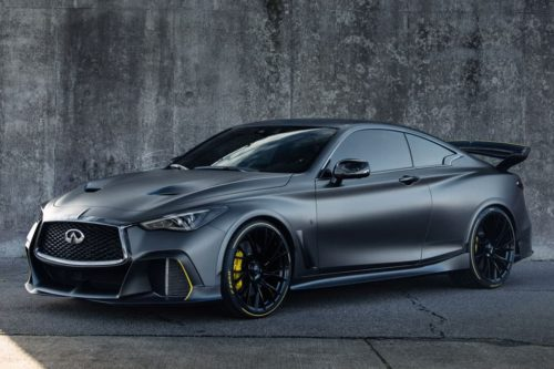Infiniti Project Black S prototype evolves