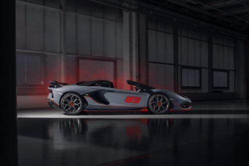 Lamborghini Aventador SVJ 63 Roadster and Huracan Evo GT Celebration unveiled
