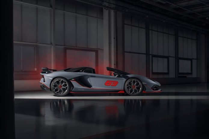 Lamborghini Aventador SVJ 63 Roadster and Huracan Evo GT Celebration unveiled