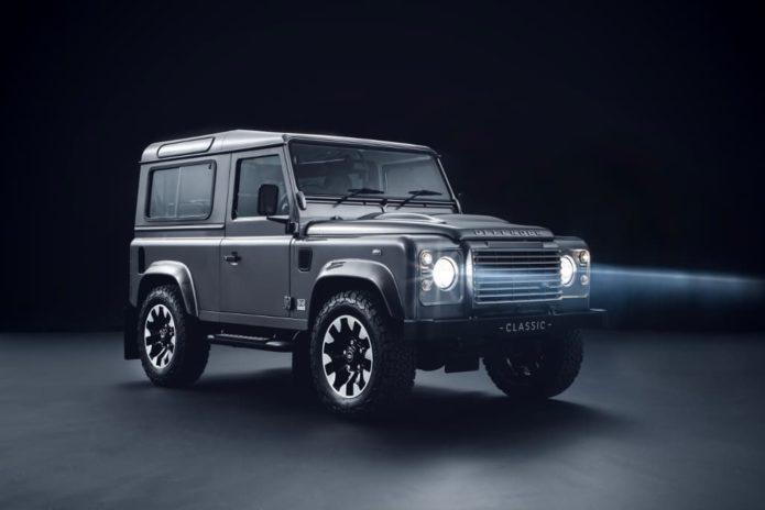 Land Rover Defender upgrades introduced