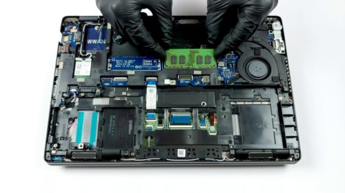 Inside Dell Latitude 5400 – disassembly and upgrade options
