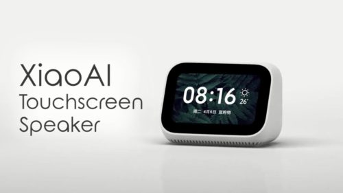 Xiaomi xiao Ai touch screen speaker box review