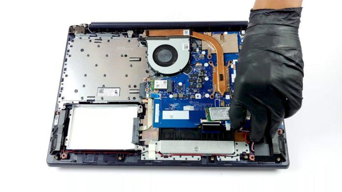 Inside Lenovo Ideapad L340 (15″) – disassembly and upgrade