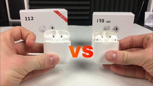 i12 TWS VS i10 TWS: which one is the most worth buying AirPods clone?