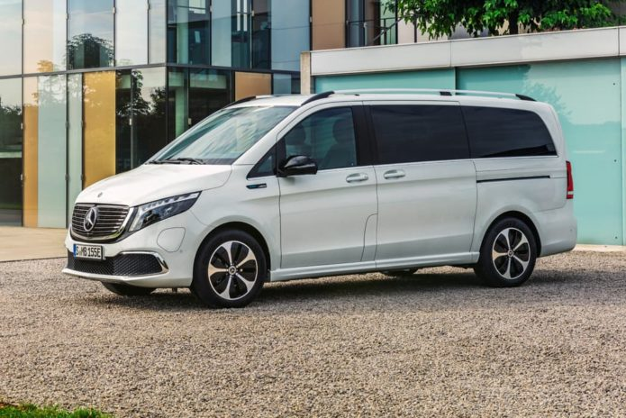 Electric Mercedes-Benz EQV people-mover revealed