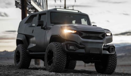 2020 Rezvani Tank Is Built to Survive the Apocalypse