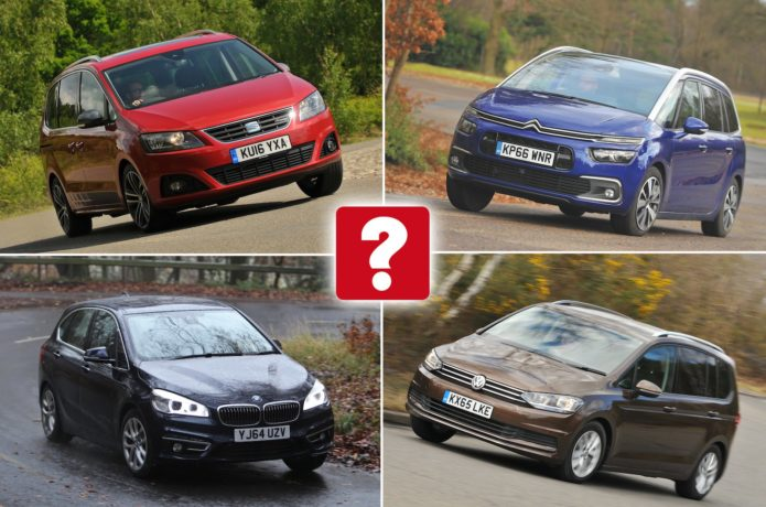 Top 10 used MPVS for less than £10,000