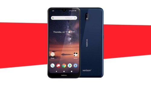 Nokia 3 V Verizon phone de-emphasizes cameras