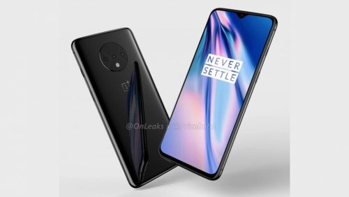 OnePlus 7T renders reveal circular camera bump