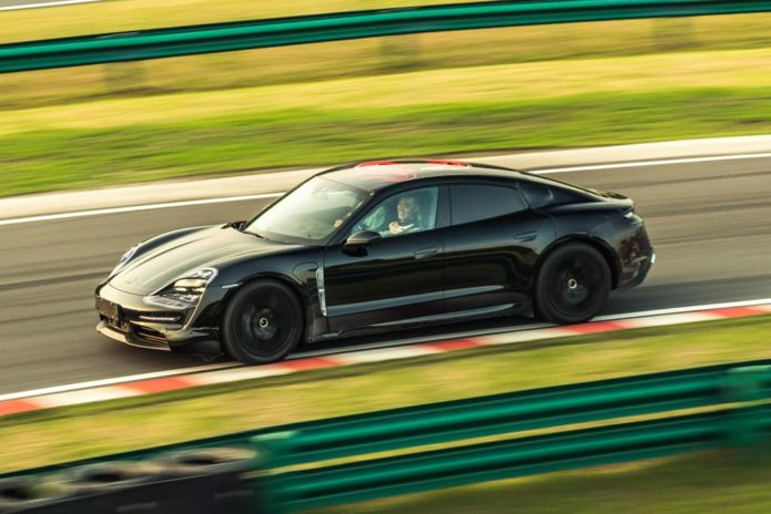 Porsche Taycan to hit 200km/h in under 10 seconds