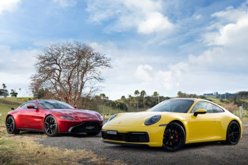 2019 Aston Martin Vantage v Porsche 911 Carrera 4S Comparison