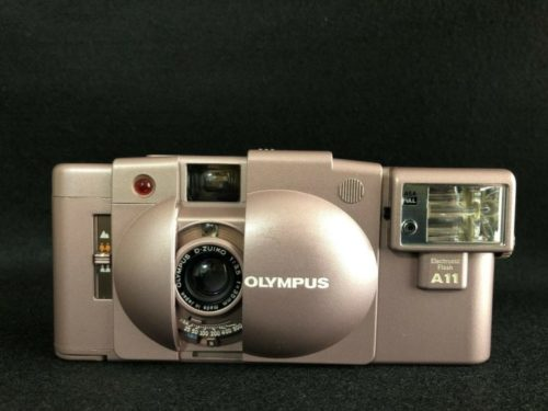 This Pink Olympus XA2 Is an Extremely Rare Commemorative Edition
