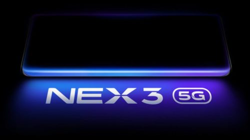 Vivo NEX 3 shown off in all its glory! Waterfall Screen and Headphone jack confirmed!