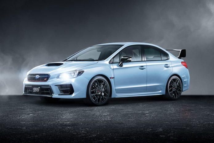 Subaru WRX STI Kuro special edition lobs